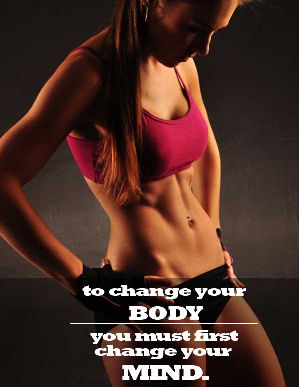 lose belly fat mindset