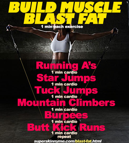 Blast Fat Build Muscle